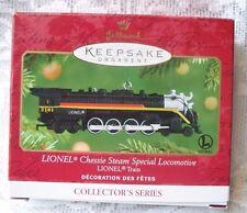 2001 Hallmark Lionel Train Ornament Chessie Steam Special Locomotive Series #6