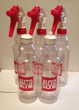 3x Autoglym Trigger Spray Bottles + 2x Flip Top Dressing Bottles 500ml Valeting