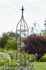 Extra Large Handcrafted 2m Aston Garden Obelisk- Climbing Plant Support