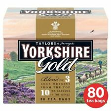 4x Yorkshire Gold Teabags 80 per pack