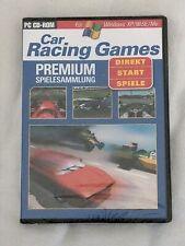 Car Racing Games (PC, DVD-Box) Spielesammlung Autorennen OVP