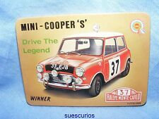 Mini Cooper S Car Vehicle Garage Advertising Magnet NEW Classic Car Present
