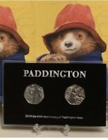 2018  Paddington Bear 50p Display Case (NO COIN)  + Free Stands