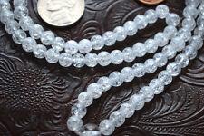 Crystal Quartz Handmade Yoga Mala Beads Necklace - Energized Karma Nirvana