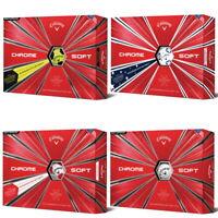 New Callaway Chrome Soft Golf Balls - 6 DOZEN - Pick Your Color - TRUVIS