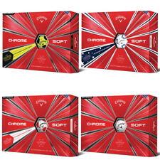 New Callaway Chrome Soft Golf Balls - 6 DOZEN - Pick Your Color