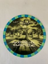 Rave Flyers  World Dance Organisation .  World Dance  19th August 1989 Rare