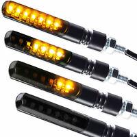4 x LED Blinker Sequentiell Lauflicht Blade schwarz getönt vorn hinten BMW