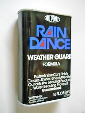 VINTAGE DUPONT RAIN DANCE WEATHER GUARD - 1 pint - by DUPONT 16 OZ. FULL CAN -