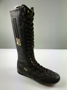 NEW Gola Furfly Boxing Boots Women`S Color Brown Size 6 U.S