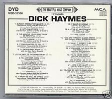 DICK HAYMES - LITTLE WHITE LIES & 23 MORE - MINT CD