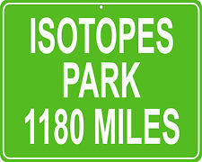 Isotopes Park in Albuquerque, NM - distance to your house