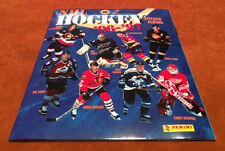 1996-97 RARE Euro Issue Only Panini NHL Hockey Unused Empty Sticker Blue Album