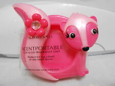 Bath & Body Works Scentportable Clip & Co Fragrance Pink Skunk Unit NEW