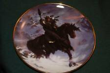 Hermon Adams LtdEd Plate: Spirit Of West Wind Am Indian