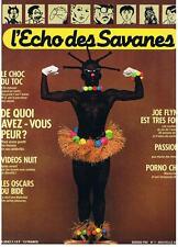 L'ECHO DES SAVANES NOUVELLE SERIE N° 7 1983 TRES BON ETAT