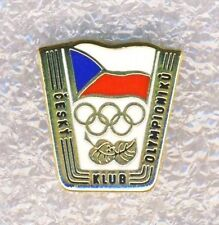 CZECH NOC Olympian Club PIN Olympics Participant Club Members Badge Very RARE