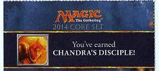 Chandra's Disciple M14 PreRelease  Promotional Card Code Promo M14 MTG Magic