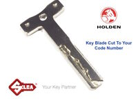 HOLDEN Commodore Keys -Key Blade Cut To Your Code Number-Suits VR-VZ Remote Head