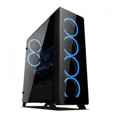 Sahara P75 Black SYNC & Standalone RGB  W/ 6 x Pirate RGB Fan 12cm & RF Remote