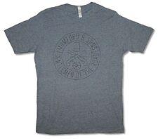 Mumford & Sons Gun Seal Heather Charcoal Grey T Shirt New Official Soft