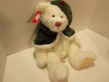 SAN FRANCISCO MUSIC BOX CO. WIND-UP BEAR-I'LL BE HOME FOR CHRISTMAS-VINTAGE 90S