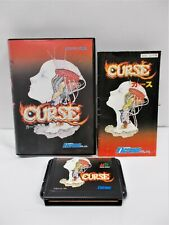 Mega-Drive Genesis -- Curse -- Boxed. Japan. Shooter Game. Micronet. 11438