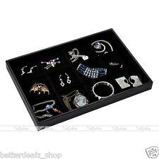 12 Grids Bracelet Necklace Jewelery Shop Display Storage Box Tray Case Organiser