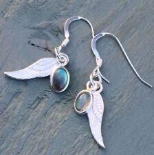 Labradorite Natural Not Enhanced Fine Gemstone Earrings