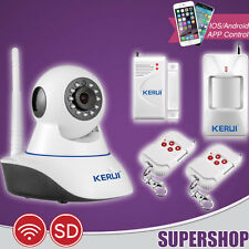 Z05 Caméra IP Antivol Capteur Détecteur Alarme Sans Fil Maison Sécurité Intrus