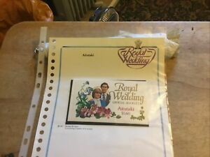 Aitutaki Unmounted Mint Stamp Booklet,charles/di Royal Wedding With Stamps