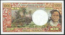 Tahiti French Oceania: 1.000 Francs 1985 o.A. (P-27 / B405e)