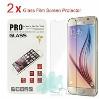 Premium Real Tempered Glass Film Screen Protector for Samsung Galaxy S6