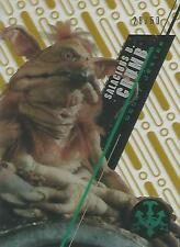 "Star Wars High Tek 2016: SW-8 ""Salacious Crumb"" Gold Parallel Base Card #28/50"