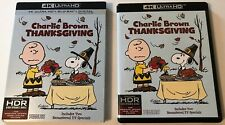 A Charlie Brown Thanksgiving (1973 2-Disc: 4K UHD + Blu-Ray) w/SLIPCOVER Used