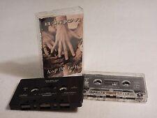 2 Cassette Lot : Jon Bon Jovi - Keep The Faith & Miracle / Boold Money Single