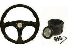 """SAAS Sports 14"""" 350mm Steering Wheel & Boss Kit Suits Holden VK Commodore ADR"""
