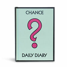 Monopoly Notebook Chance ? Daily Diary Lined Brand New Novelty Gift A6
