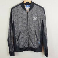 ADIDAS | Womens Shell Tile AOP Superstar Zip Track Jacket [ Size AU 10 or US 6 ]