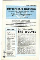 Tottenham Hotspur v Wolverhampton Wanderers 1963/4
