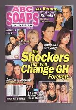 ABC SOAPS IN DEPTH GENERAL HOSPITAL SHOCKERS THAT WILL CHANGE GH MAY 2001
