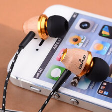 Awei Q5 Wooden Super Bass Headphone Stereo Earphone Headset For iPhone Samsung