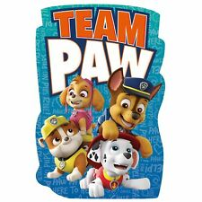 Paw Patrol Forme Plage Serviette Grand Chase Skye Marshall Rubble