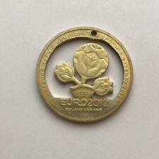 2012 Ukraine Commemorative 1 Hryvnia Cut Coin