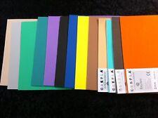 13 Rayher Crepla Moosgummiplatten 20x30cm 2mm siehe Foto R8-20-14