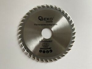 Saw Blade Angle Grinder for Wood Cutting Disc Circular 115x22x40T