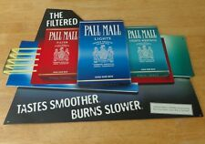 Pall Mall The Filtered Tastes Cigarettes King Size Box Tobacco Metal Tin Sign