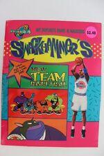 SPACE JAM SWACKHAMMER'S MEAN TEAM BASKETBALL PAINT & MARKER BOOK LANDOLL'S 1996