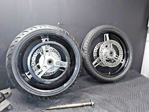 04 Harley Davidson V-Rod Rims W/Tires and Axle