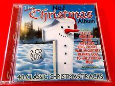 THE No.1   CHRISTMAS ALBUM  2 x CD   -  *EX/NM*  WHAM KATE BUSH BAND AID BONEY M